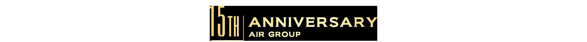 AIR GROUP設立15周年記念サイト